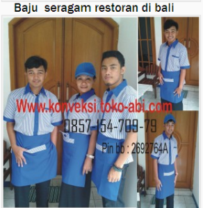 baju seragam kerja restoran