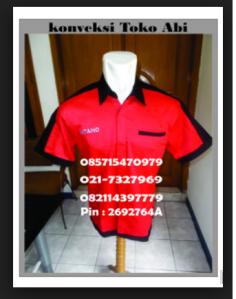 baju seragam kerja teknisi