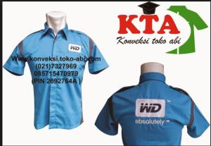buat baju seragam kerja murah