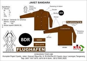 design jaket bandara