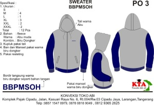 design jaket sweater