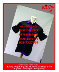 konveksi seragam murah