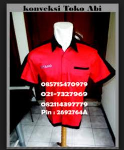 pembuatan baju seragam kerja kantor murah