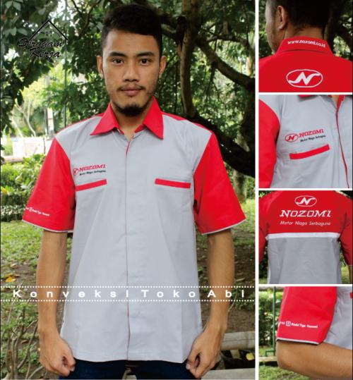 Baju Kerja Pabrik Jakarta